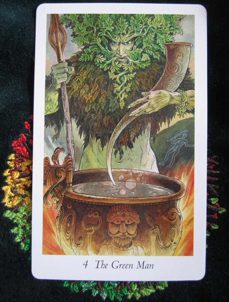 Wildwood COTD : Card 4, The Green Man
