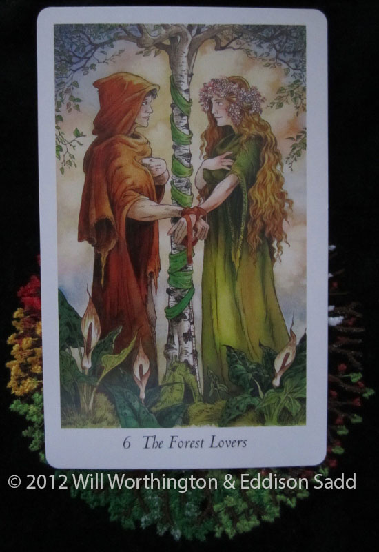Forest Lovers from The Wildwood Tarot
