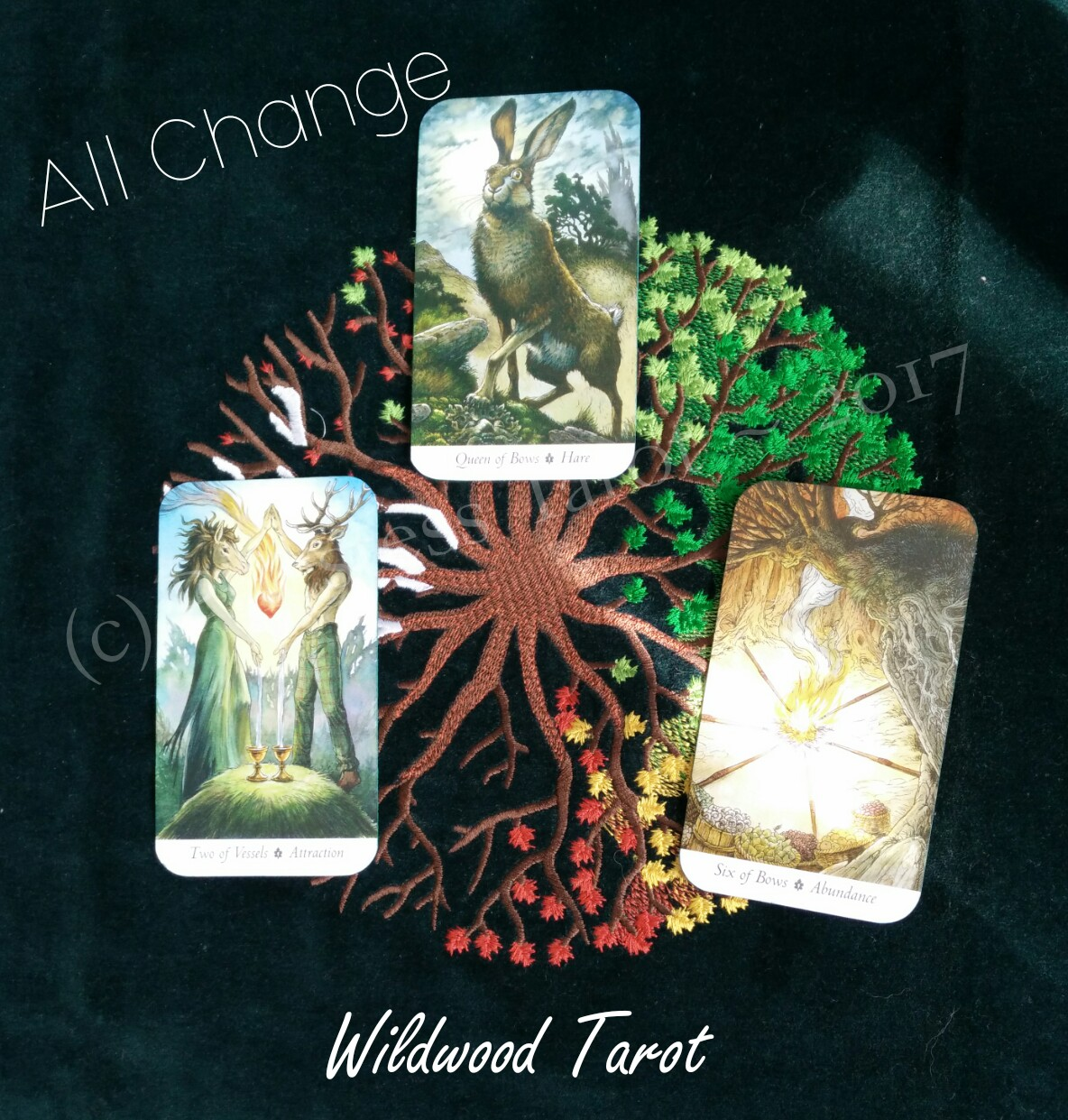 Priestess Tarot : It's All Change for me!