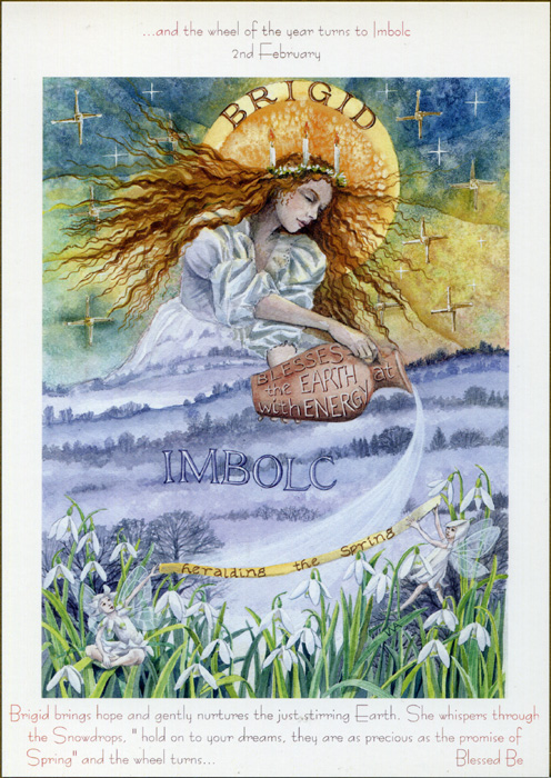 Happy Imbolc / Groundhog Day – Lighting the Fires of Self